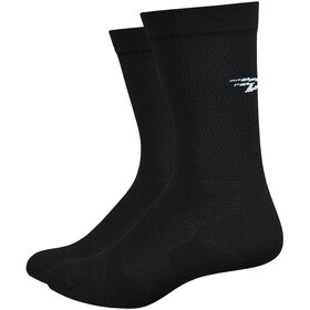 DeFeet Levitator Lite Socks d-logo black